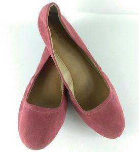 Tahari Violet Ballet Flats Size 9.5